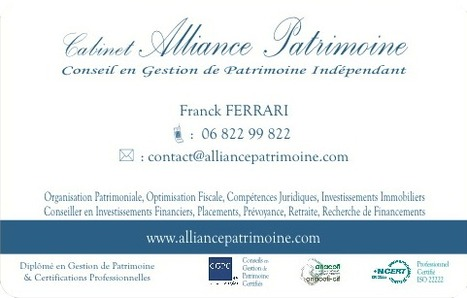 Carte De Visite Franck FERRARI