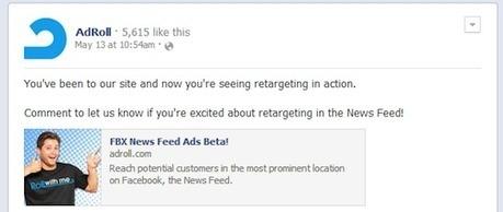 [SEM] Des résultats spectaculaires pour le retargeting sur Facebook   Social Media Curation par Mon Habitat Web   Scoop.it