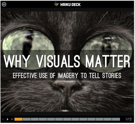 Free Technology for Teachers: Why Visuals Matter In Storytelling | Teacher-Librarian | Scoop.it
