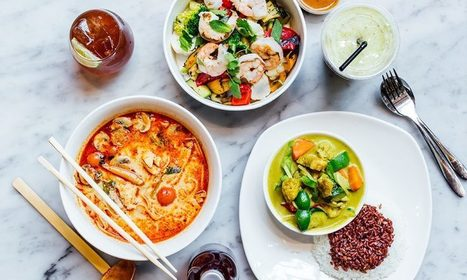 Healthy Food Delivery London In Pan Asian Family Restaurant