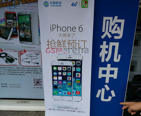 China Mobile jumps the gun with an ad of the two iPhone 6s models | International Marketing Communications | Scoop.it