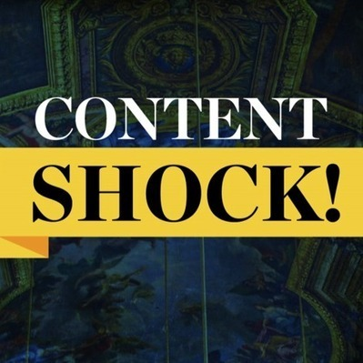 Content Shock: Earned Media vs. Quality Content in Content Marketing | Social Media Today | ProfySpace | Scoop.it