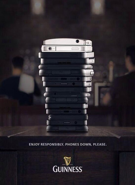 Guinness Asks Bar Patrons To Swap Their Phones For Beers   International Beer Market Insights   Scoop.it