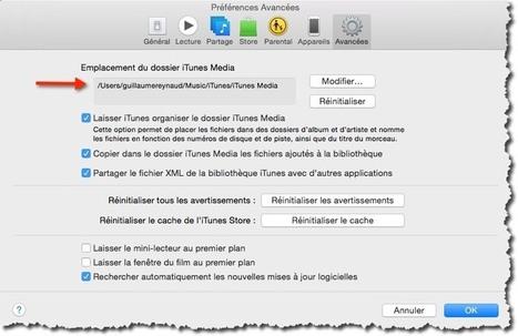 Comment déplacer votre bibliothèque ITunes sous MAC. | Au fil du Web | Scoop.it