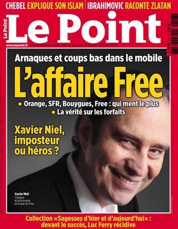 """«Arnaques et coups bas dans le mobile: L'affaire Free», la couverture choc du Point qui fait un flop   Argent et Economie """"AutreMent""""   Scoop.it"""
