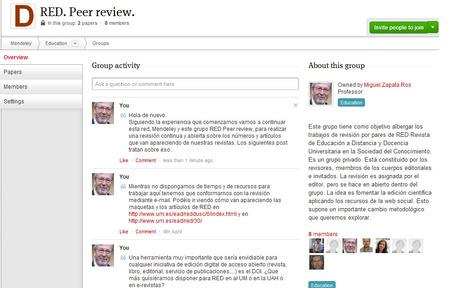 RED. Revista de Educación a Distancia: Revisión peer review de RED en Mendeley | Humanidades Digitales | Scoop.it