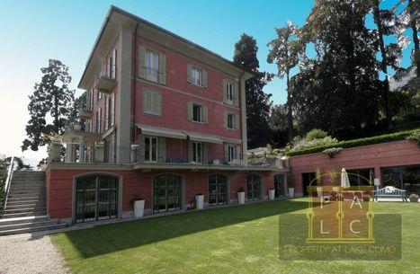 Lake Como Property of the Week - Villa Luce in Lenno | Italian Properties - Italiaans Onroerend Goed | Scoop.it