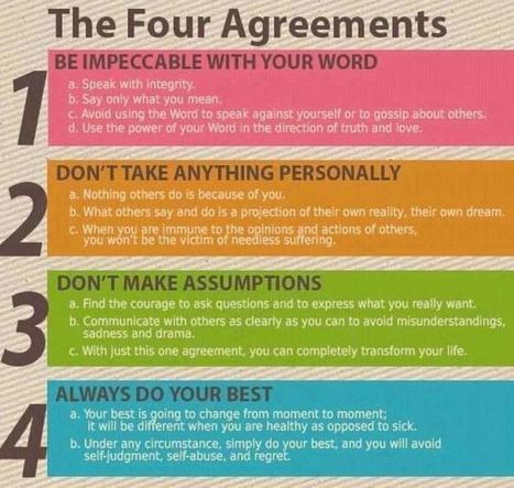 Los cuatro Acuerdos   Live different taste the difference   Scoop.it