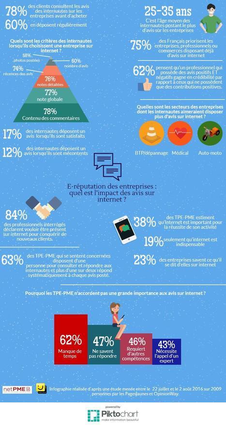 E-réputation des entreprises : quel est l'impact des avis sur internet ? | BeinWeb - Conseils et Formation Webmarketing pour entrepreneurs et PME motivés | Scoop.it