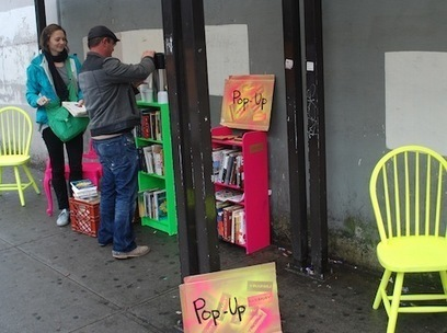 Shareable: How to Create a Pop-Up Library | bibliotheques, de l'air | Scoop.it