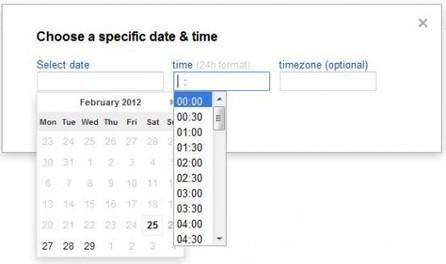 Planifier l'Envoi de Mail dans Gmail   WebZine E-Commerce &  E-Marketing - Alexandre Kuhn   Scoop.it