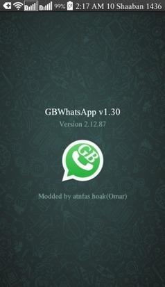 gbwhatsapp 5.8