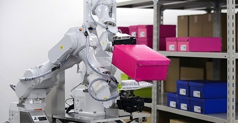 Hitachi presenta su nuevo robot de dos brazos exclusivo para trabajos de almacén | Robotic applications | Scoop.it