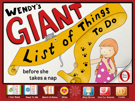 O Story Story - Wendy's Giant List | Technology and Young Learners | Scoop.it