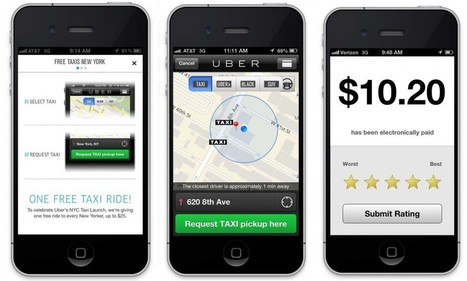 Introducing Uber Taxi NYC + One Free Ride for Every New Yorker   New York City Chronicles   Scoop.it