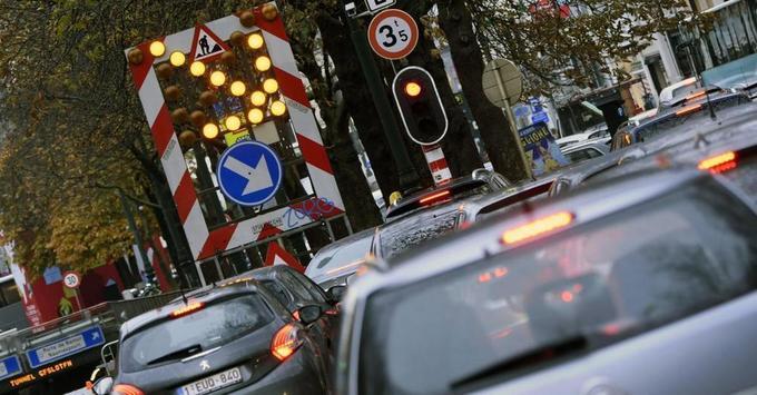 Bruxelles, le cauchemar des automobilistes: plus de 50 routes rétrécies ou interdites aux autos d'ici 2025