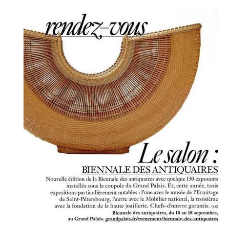 Rendez-vous: Le salon Biennale des Antiquaires   La Biennale - Paris   Scoop.it