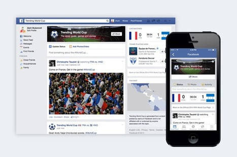 Trending World Cup on Facebook | Mnemosia: Graphics, Web, Social Media | Scoop.it
