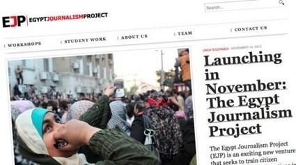 Egypt Journalism Project: formando periodistas ciudadanos en Egipto | Periodismo a secas | Scoop.it