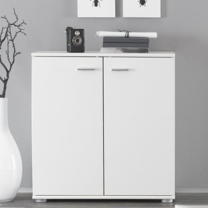 sideboard billig g nstige kommode dalvik mit zwei t ren farbauswahl wei sideboard billig. Black Bedroom Furniture Sets. Home Design Ideas