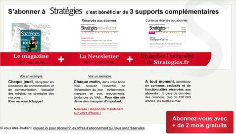 Ipad : quelles offres pour les journaux et magazines ? - Stratégies | A propos de l'avenir de la presse | Scoop.it