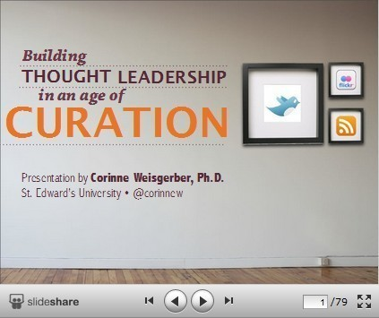 Building Thought Leadership through Content Curation | Visual*~*Revolution | Scoop.it