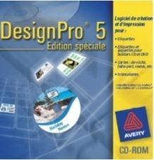 Logiciel Pro Gratuit Avery DesignPro Fr 2012 PC Etiquettes Cartes De Visite Voeux Intercalaires Transferts T Shirt