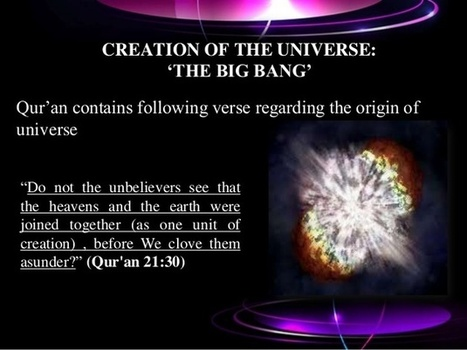 a study of the creation of the universe See why scientists believe our universe began with one enormous explosion of energy and it was literally the moment of creationthe universe flashed into.