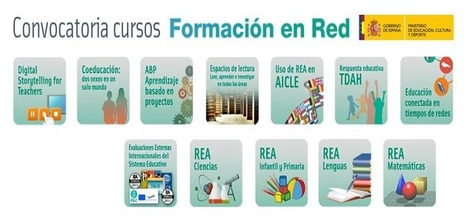 Convocatoria de cursos de Formación en Red del INTEF 2014 | Blog de INTEF | De interés educativo | Scoop.it