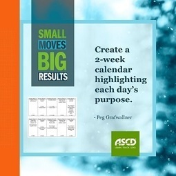 » A Routine Engagement: Three Small Moves for SuccessASCD Inservice | Cool School Ideas | Scoop.it