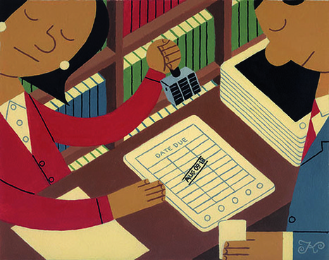 Making Digital Libraries Work, With or Without BYOD -- THE Journal | School Libraries around the world | Scoop.it