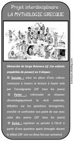 Projet mythologie grecque : démarche et outils de mise en oeuvre | Net-plus-ultra | Scoop.it