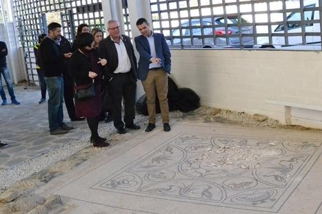 El mosaico de Medusa de la Villa Romana de Río Verde sigue sin restaurarse cuando se cumple un año de su expolio | Centro de Estudios Artísticos Elba | Scoop.it