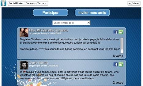 Text Contest : Concours Facebook à base de texte ou citation   Facebook Pages   Scoop.it