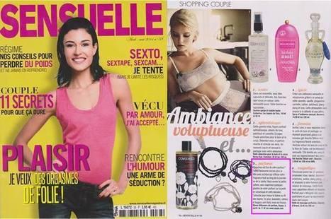 Sensuelle - Avril 14   Beauty Push, bureau de presse   Scoop.it