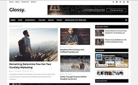 Glossy Upgraded | Blogger themes | Scoop.it