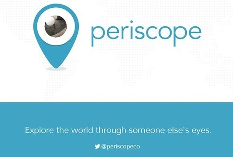 Twitter vient d'acquérir Periscope pour diffuser de la vidéo en direct - #Arobasenet | Everything you need… | Scoop.it