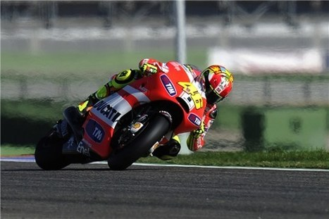 Rossi: 'I wouldn't have problems riding a CRT' | Ductalk Ducati News | Scoop.it