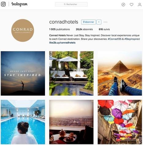 Instagram : de la promotion à la commercialisation - Veilletourisme.ca | Tourisme et Formation | Scoop.it