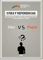 Citar vs. Plagiar: citas y referencias. Recomendaciones y aspectos básicos del estilo APA | Universo Abierto | BiblioVeneranda | Scoop.it