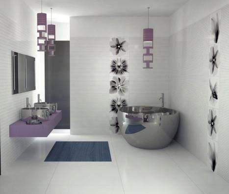 3 baños modernos que te van a encantar | Hogar y jardin | Scoop.it