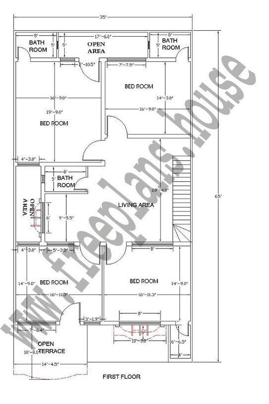 35 215 65 feet 211 square meters house plan