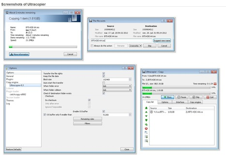 Ultracopier (Teracopy, SuperCopier like), replacement for files copy dialogs   Time to Learn   Scoop.it