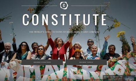 Constitute, proyecto Google para conocer las Constituciones del mundo   Recull diari   Scoop.it