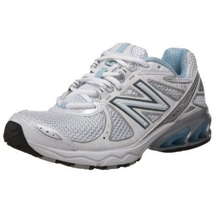 New Balance Womens WT610 Trail Running ShoeSilverPurple8 B