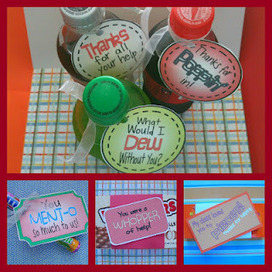 Volunteer Thank You Tags | Seasonal Freebies for Teachers | Scoop.it
