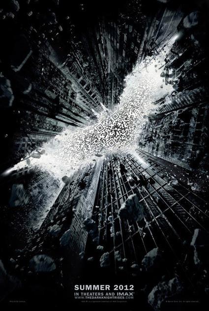 The Dark Knight Rises movie poster QRcode | artcode | Scoop.it
