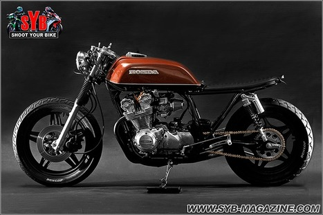 1981 Honda CB750 Brat Style