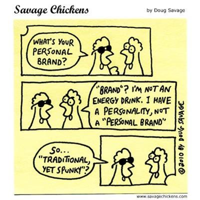 Friday Cartoon -- Personal Branding | Just Story It! Biz Storytelling | Scoop.it