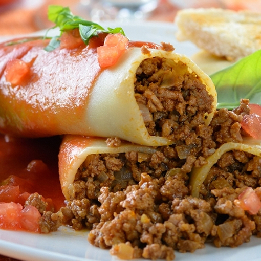 La Italian Kitchen: Italian Cannelloni Recipe From The Italian Kitc